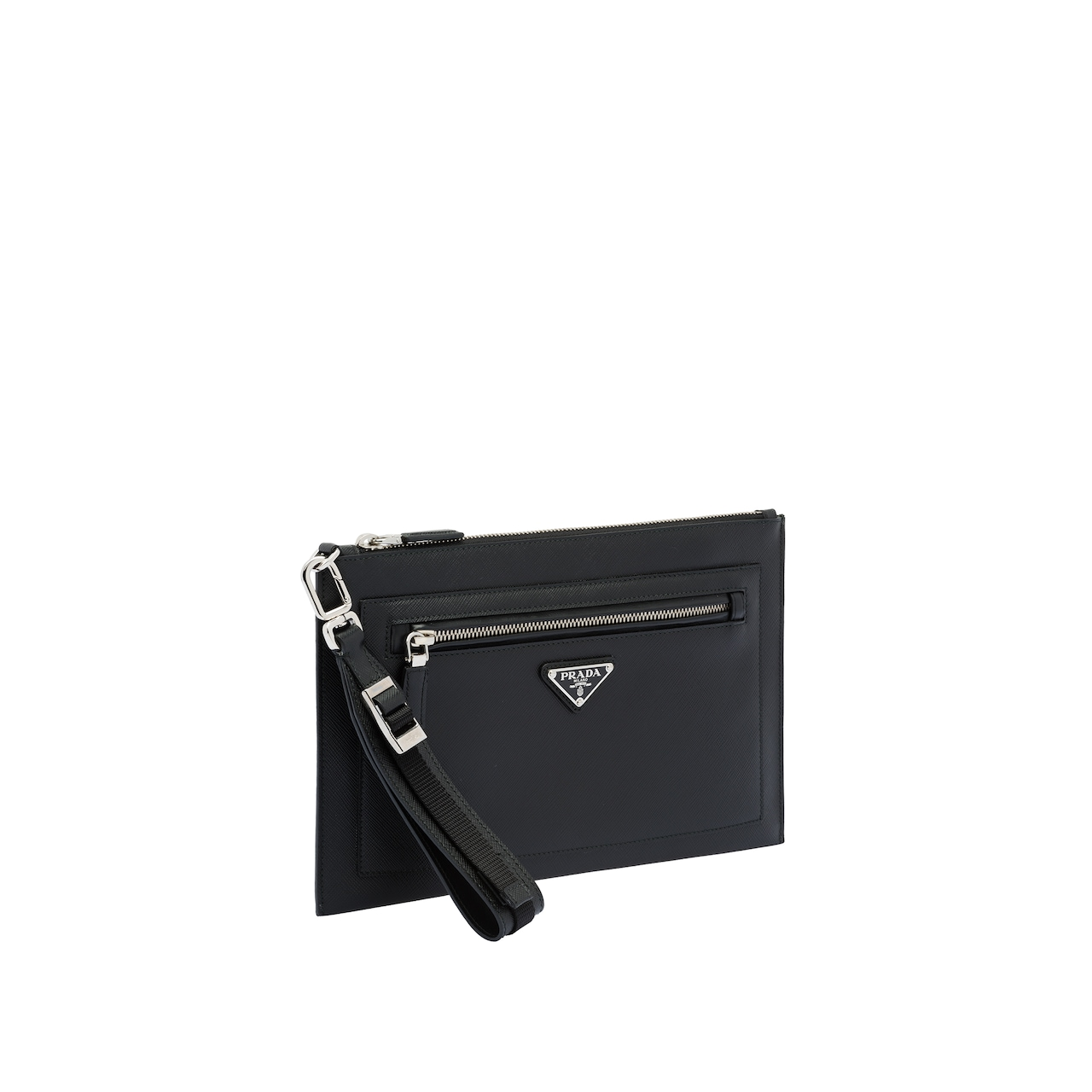 Saffiano leather pouch 4