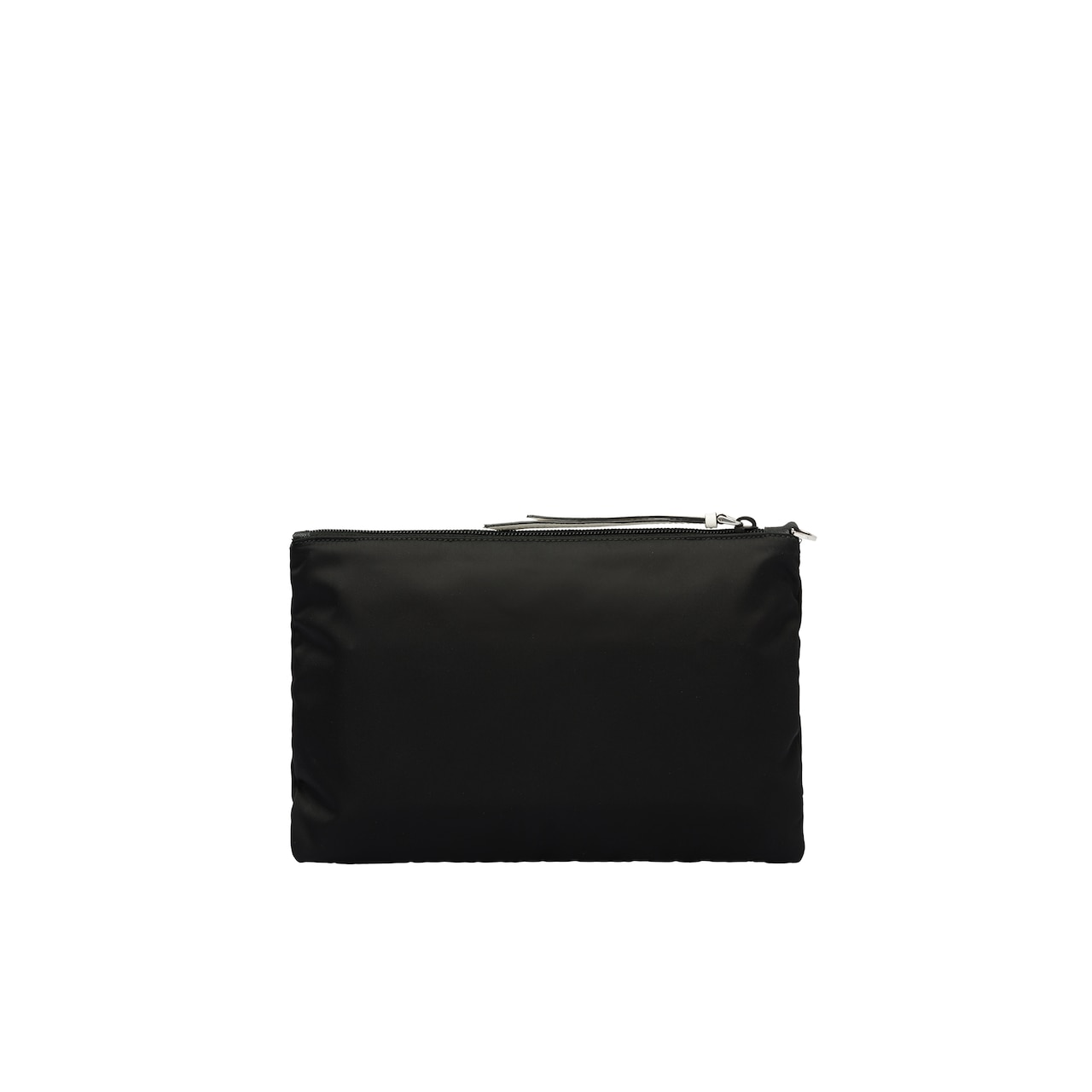 Nylon and Saffiano leather pouch 5