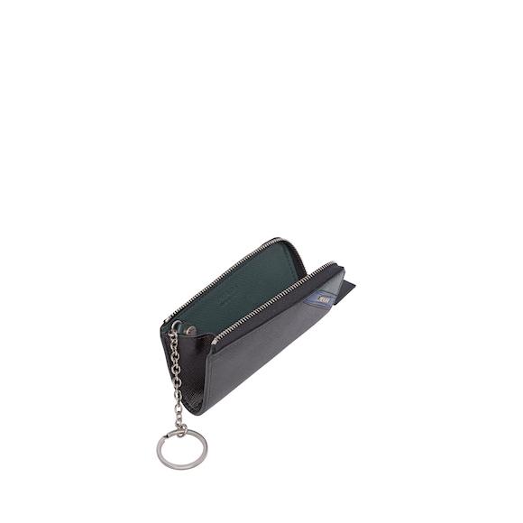 Schlüsselanhänger aus Saffiano Leder