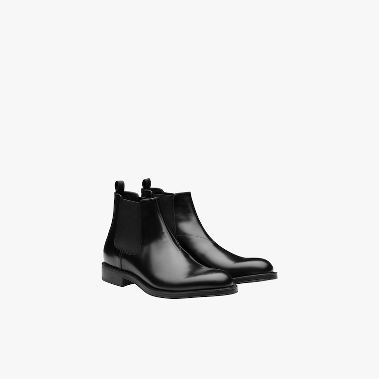 Prada Leather Chelsea boots - Man