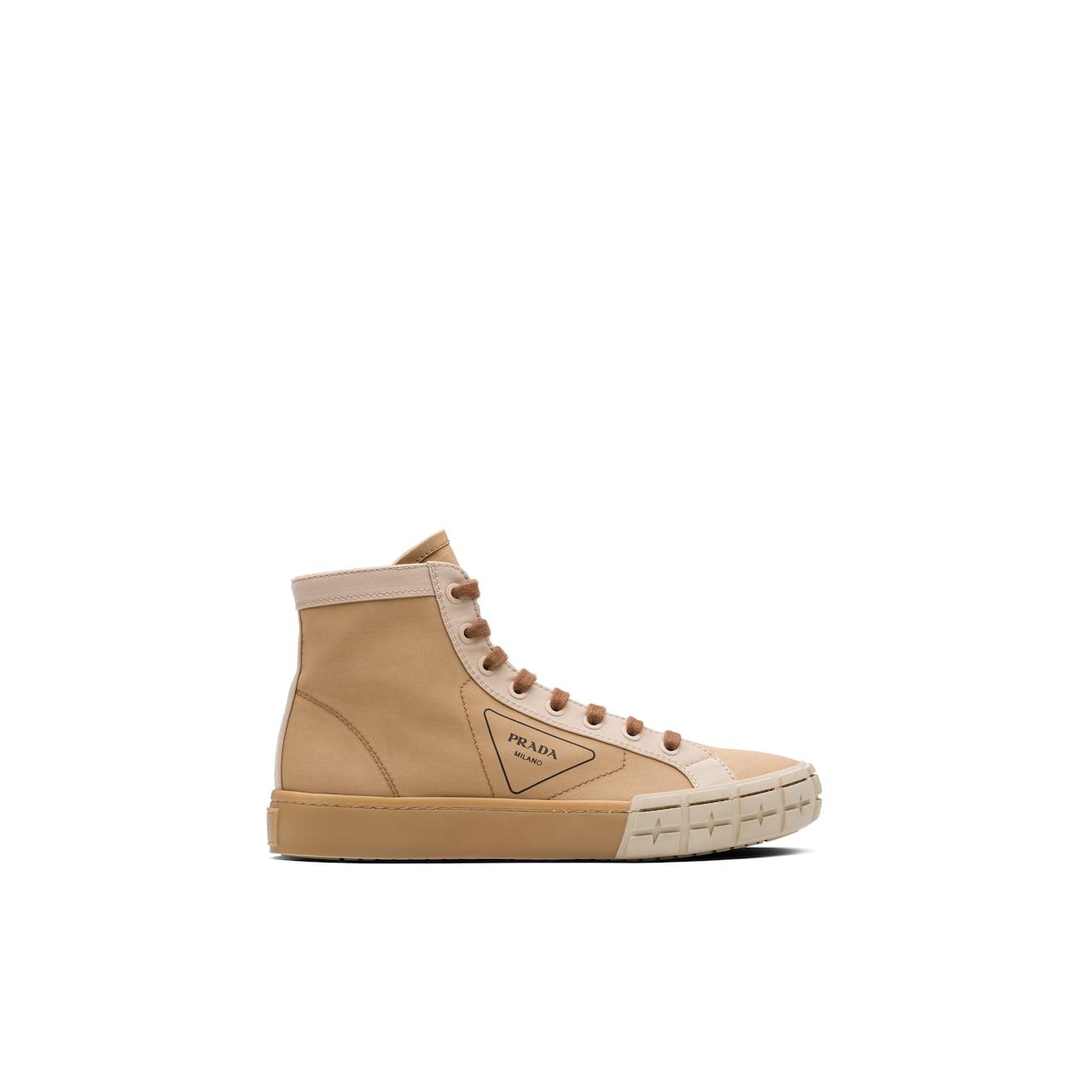 Prada 高帮织物运动鞋 4