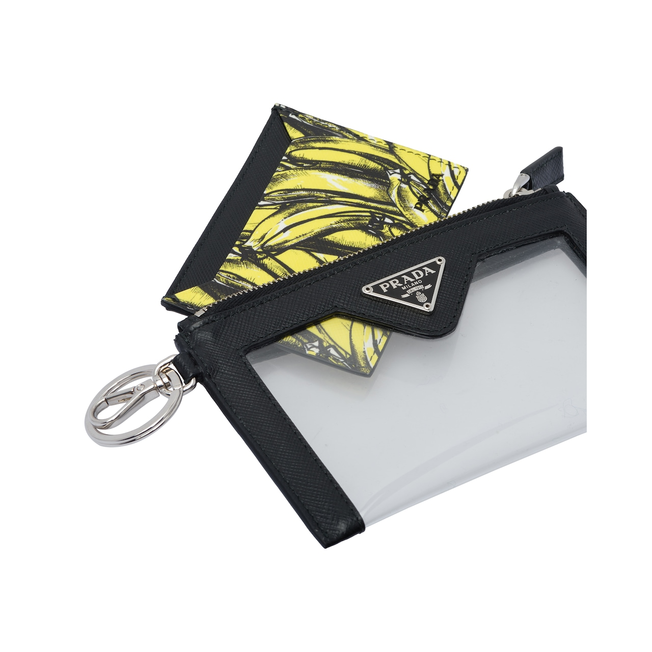 Prada Saffiano Leather Multi-functional Pouch With Strap 2