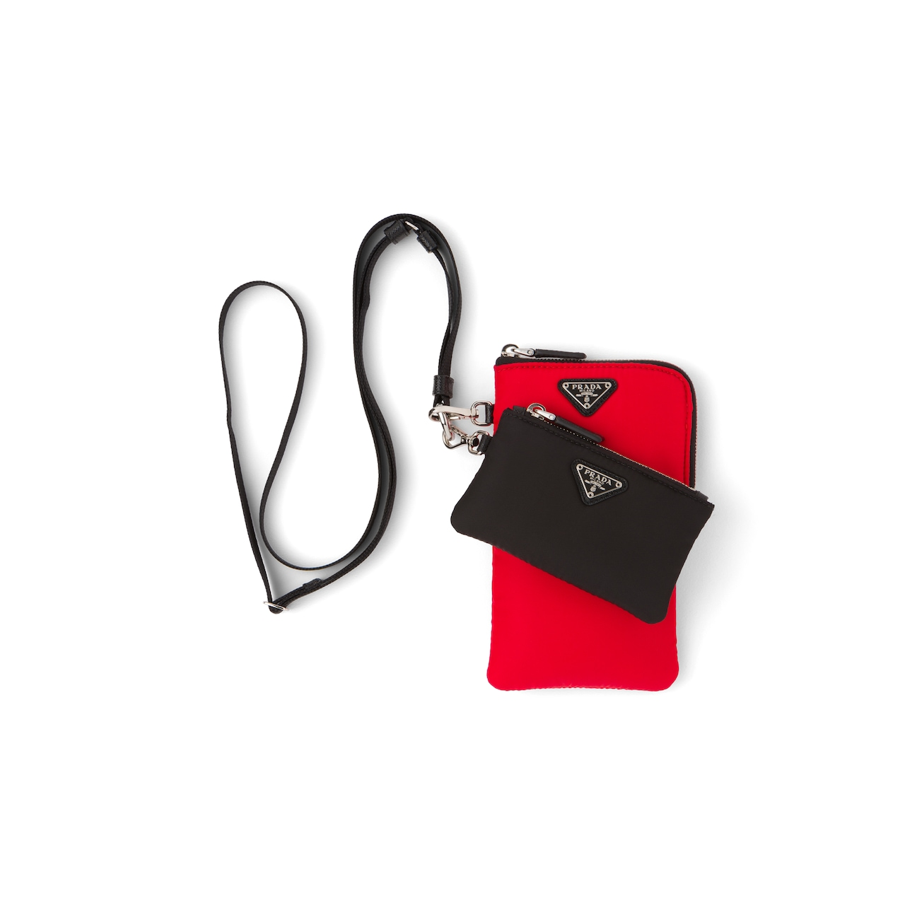 Nylon Multi-functional Pouches With Strap