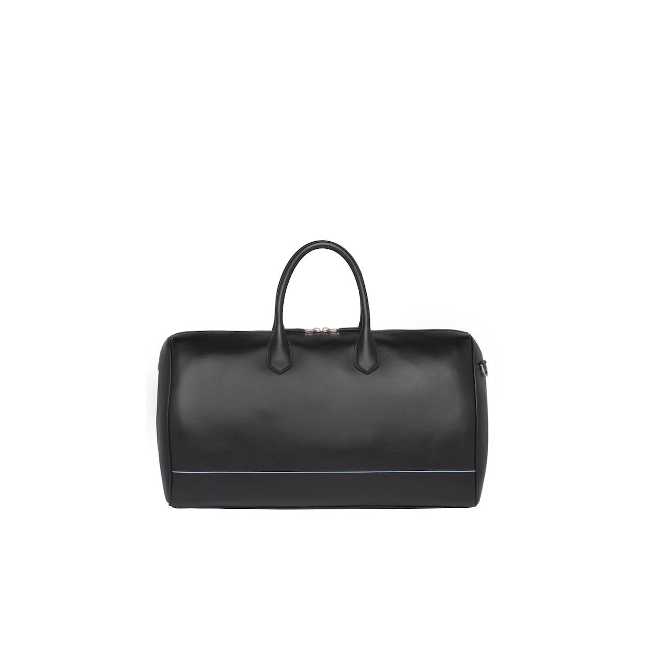 Leather travel bag