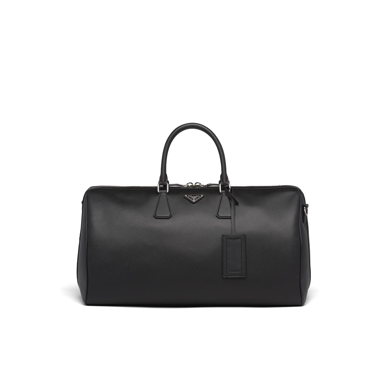 Prada Saffiano leather duffle bag 1