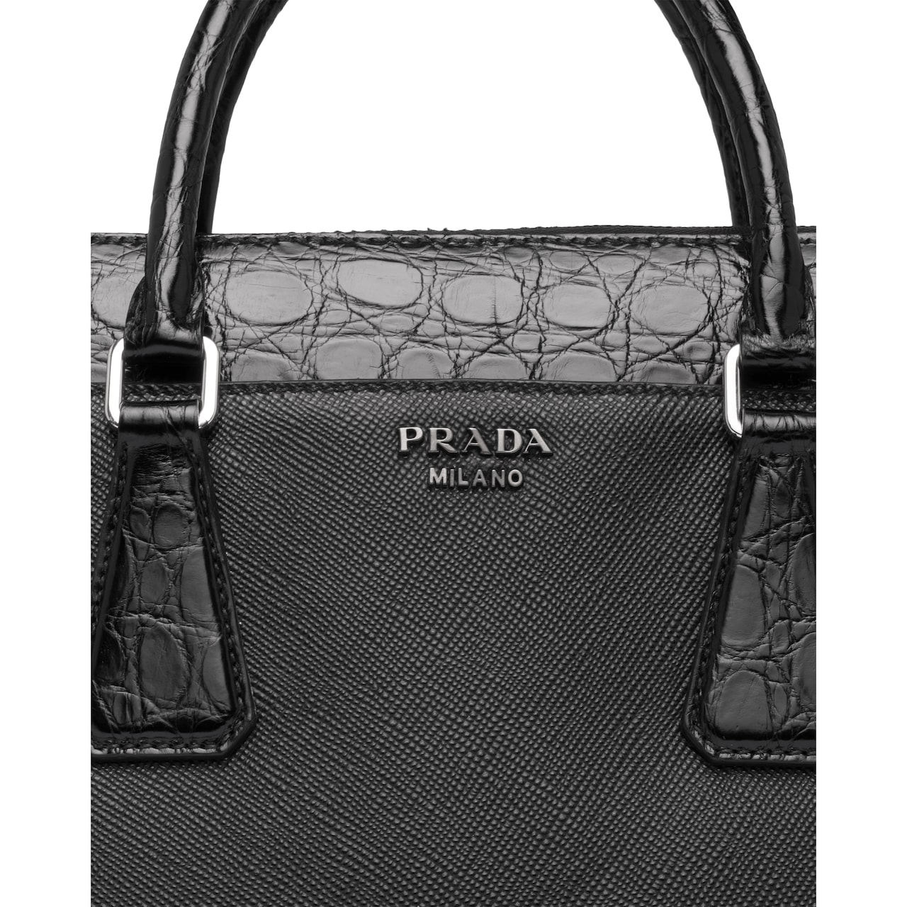 Prada Saffiano leather briefcase 6