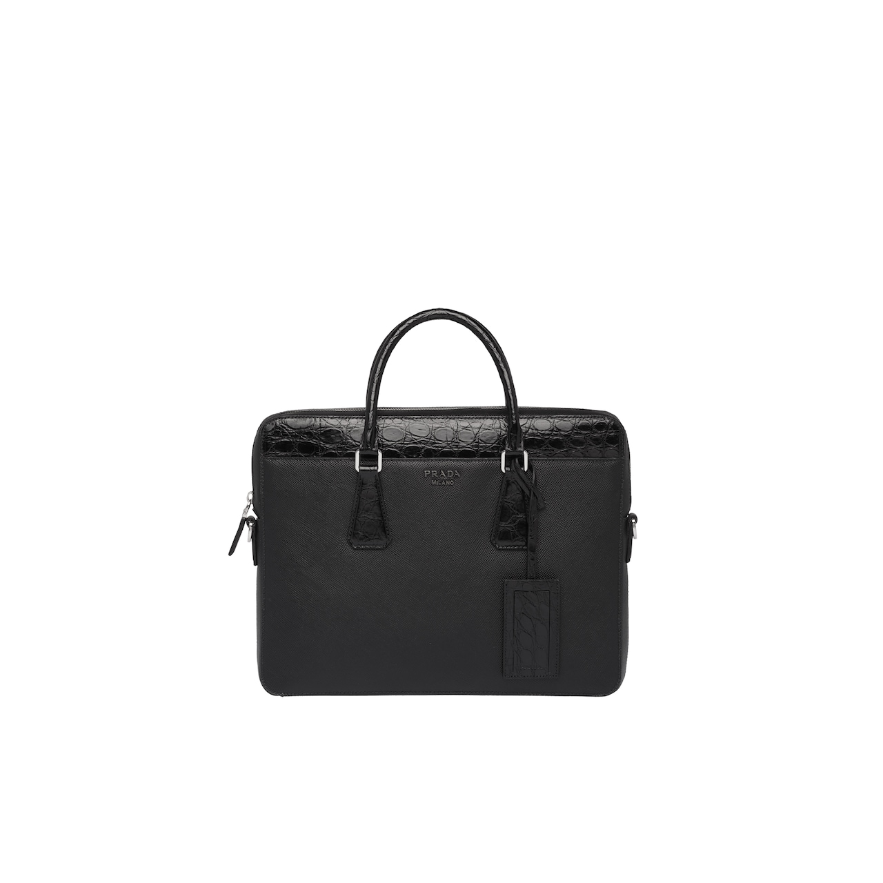 Prada Saffiano leather briefcase 1