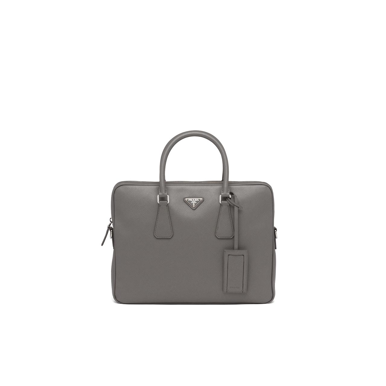 Prada Leather Briefcase 1