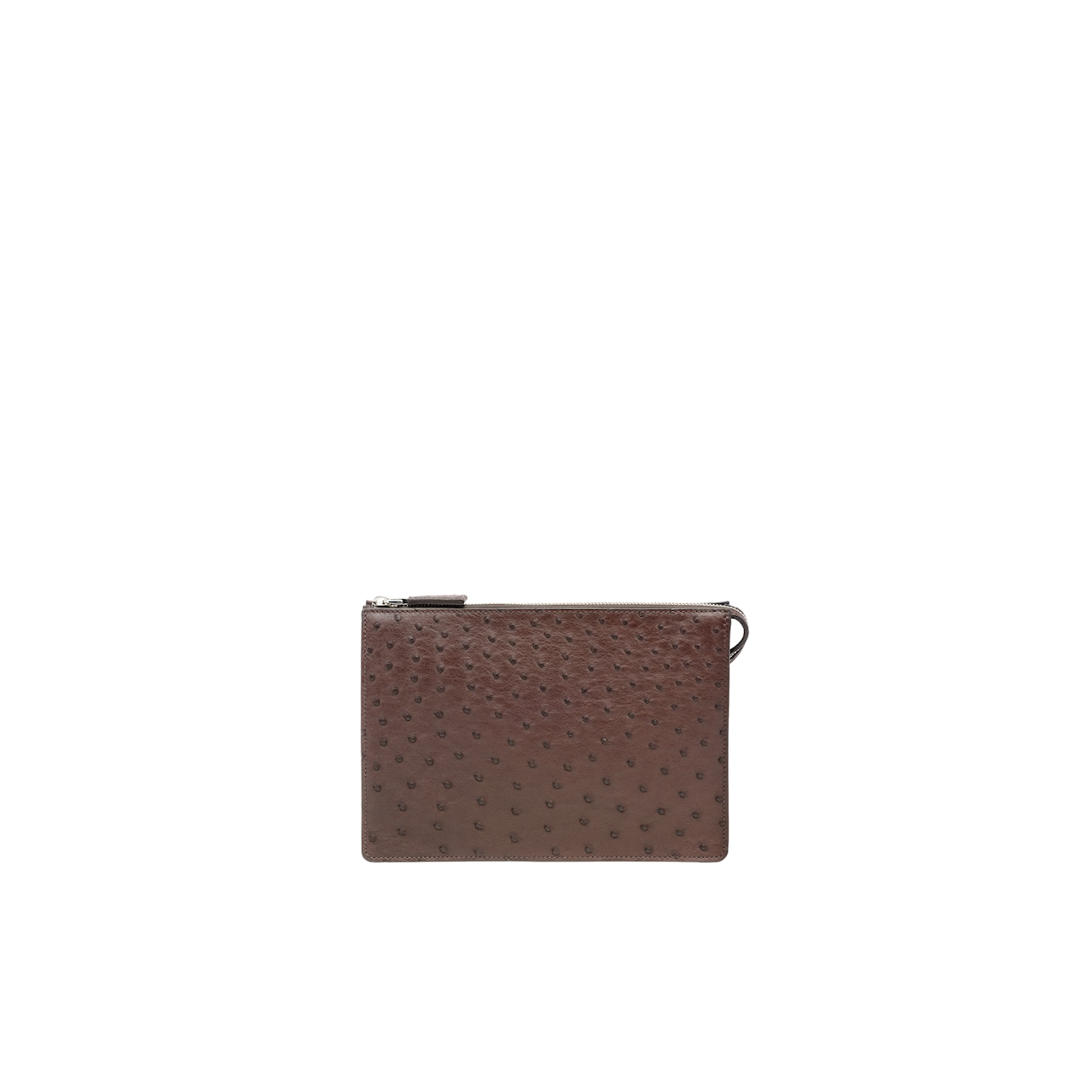 Ostrich Leather Pouch