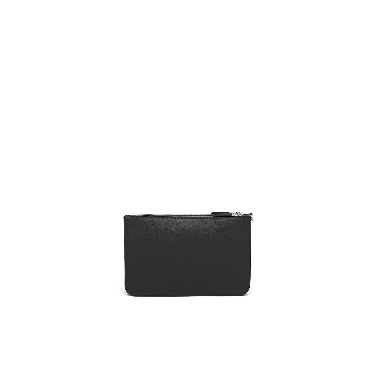 Prada Saffiano Leather Clutch 4