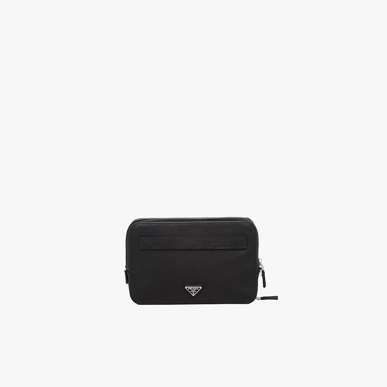 Prada Leather Bag - Man