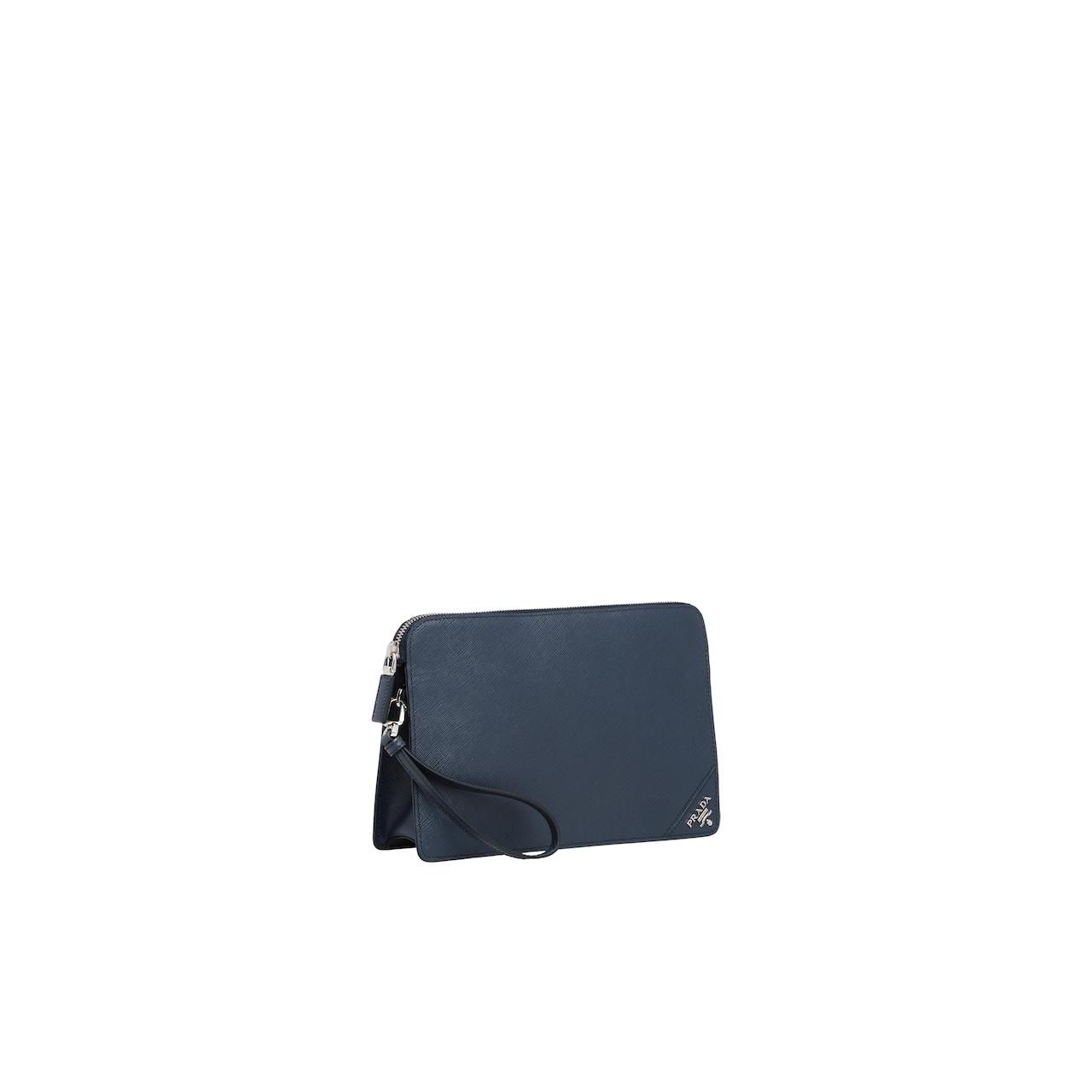 Prada Saffiano 皮革手包 3