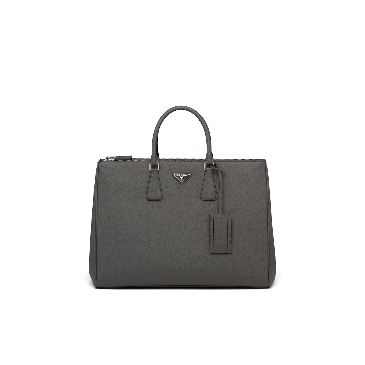 Prada Saffiano Leather Tote Bag 1