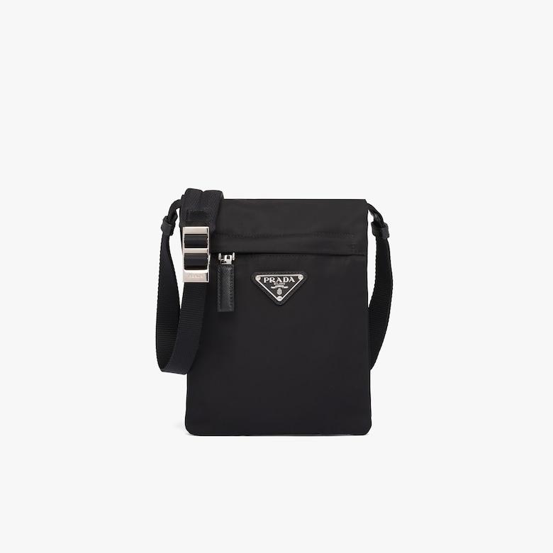 Prada Nylon bandoleer bag with shoulder strap - Man