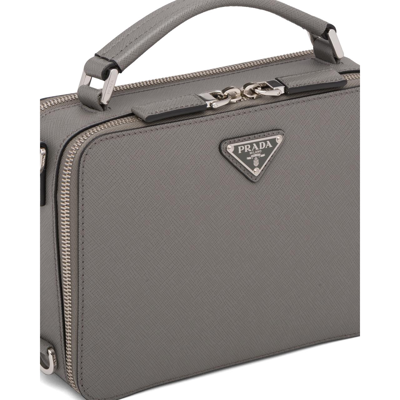 Prada Prada Brique Saffiano leather bag 6