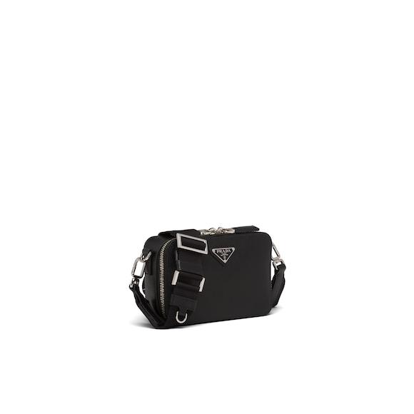 Prada Saffiano leather bandoleer bag 2
