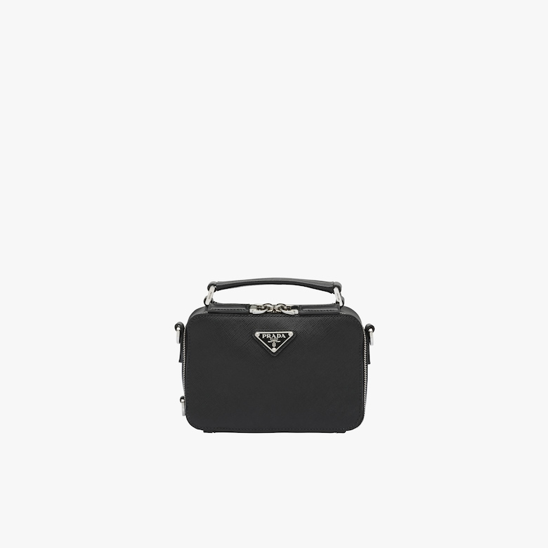 Prada Saffiano leather bandoleer bag - Man