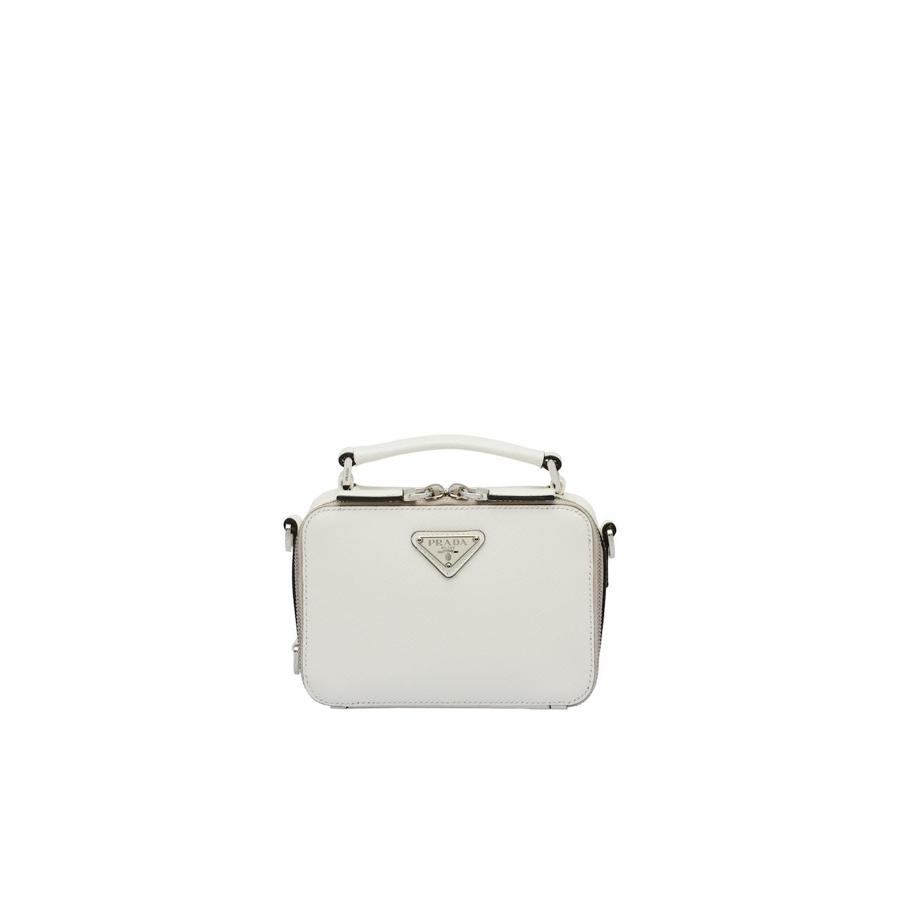 Prada Brique Tasche aus Saffiano Leder