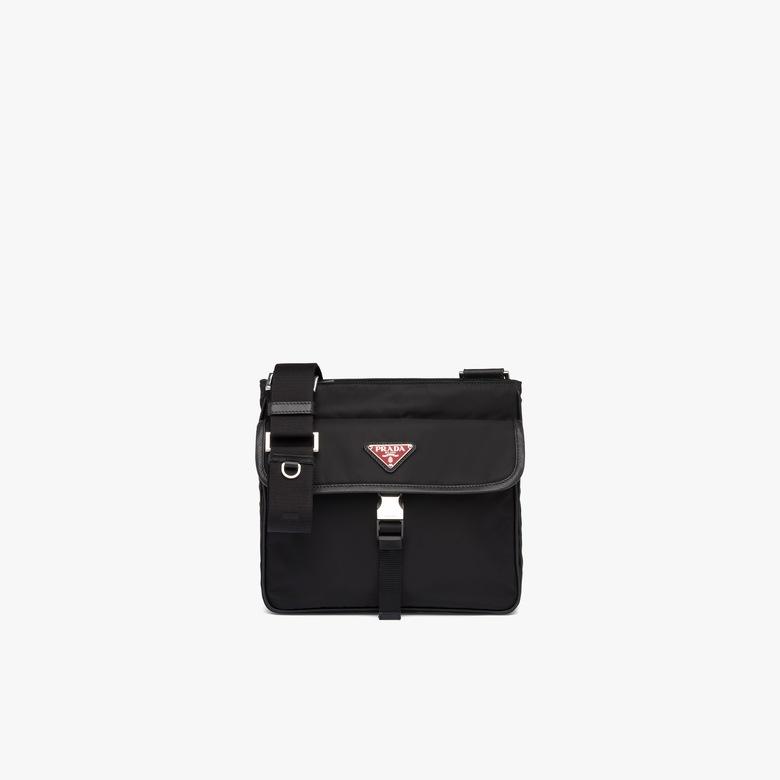 Prada Nylon and Saffiano leather bandoleer bag - Man