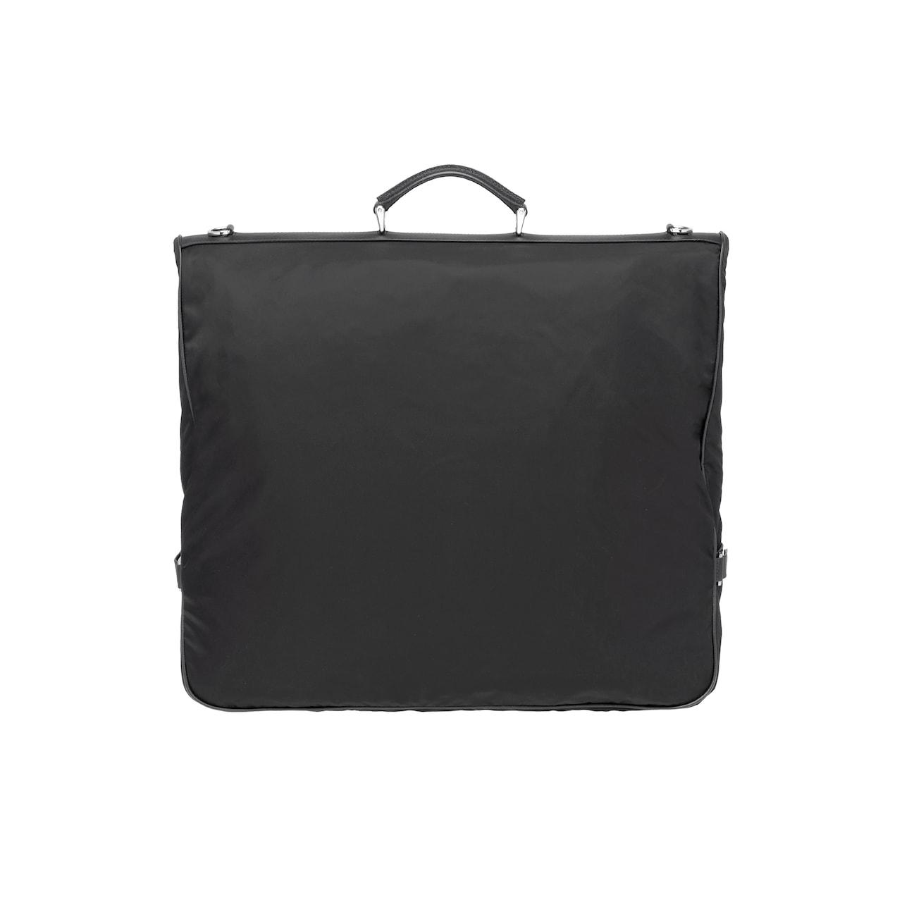 Prada Saffiano leather and nylon garment bag 4