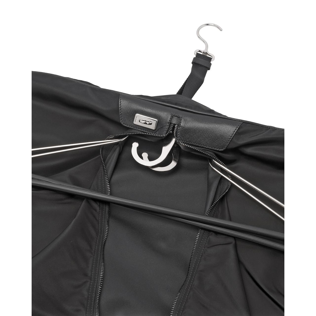 Prada Saffiano leather and nylon garment bag 6