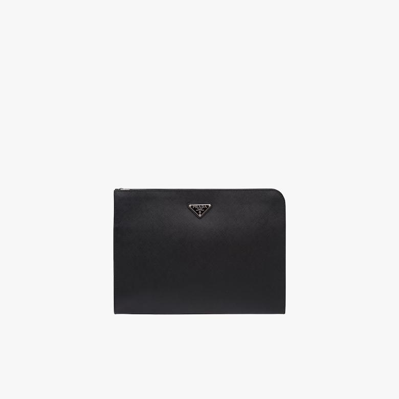 Prada Saffiano leather document holder - Man
