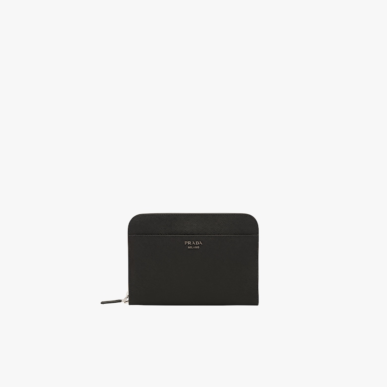 Prada Saffiano Leather Document Holder - Man