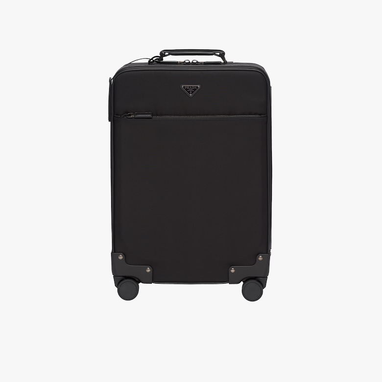 Prada Nylon and Saffiano Leather Trolley - Man