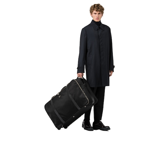 Prada Nylon Semi-Rigid Suitcase 3