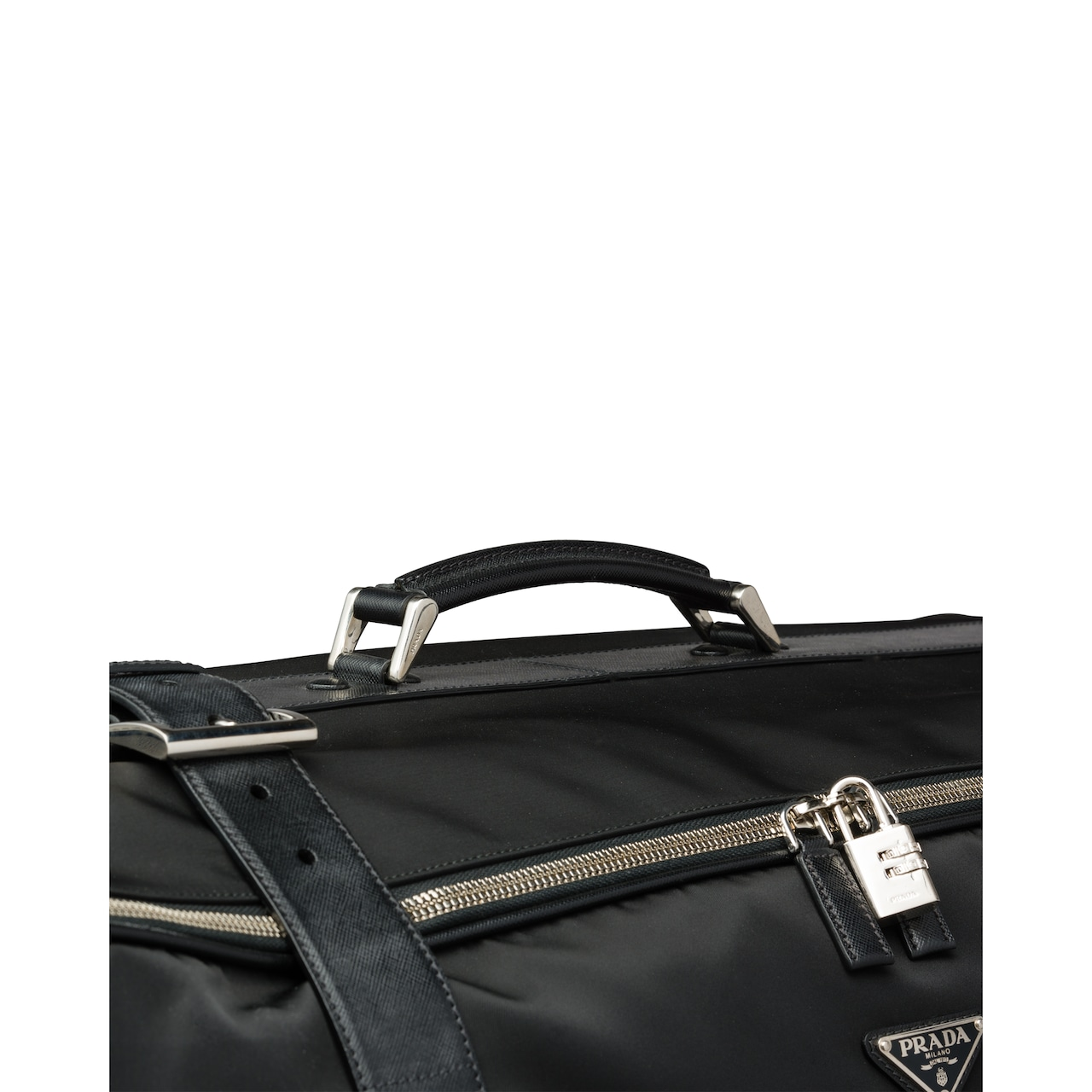Prada Nylon Semi-Rigid Suitcase 6
