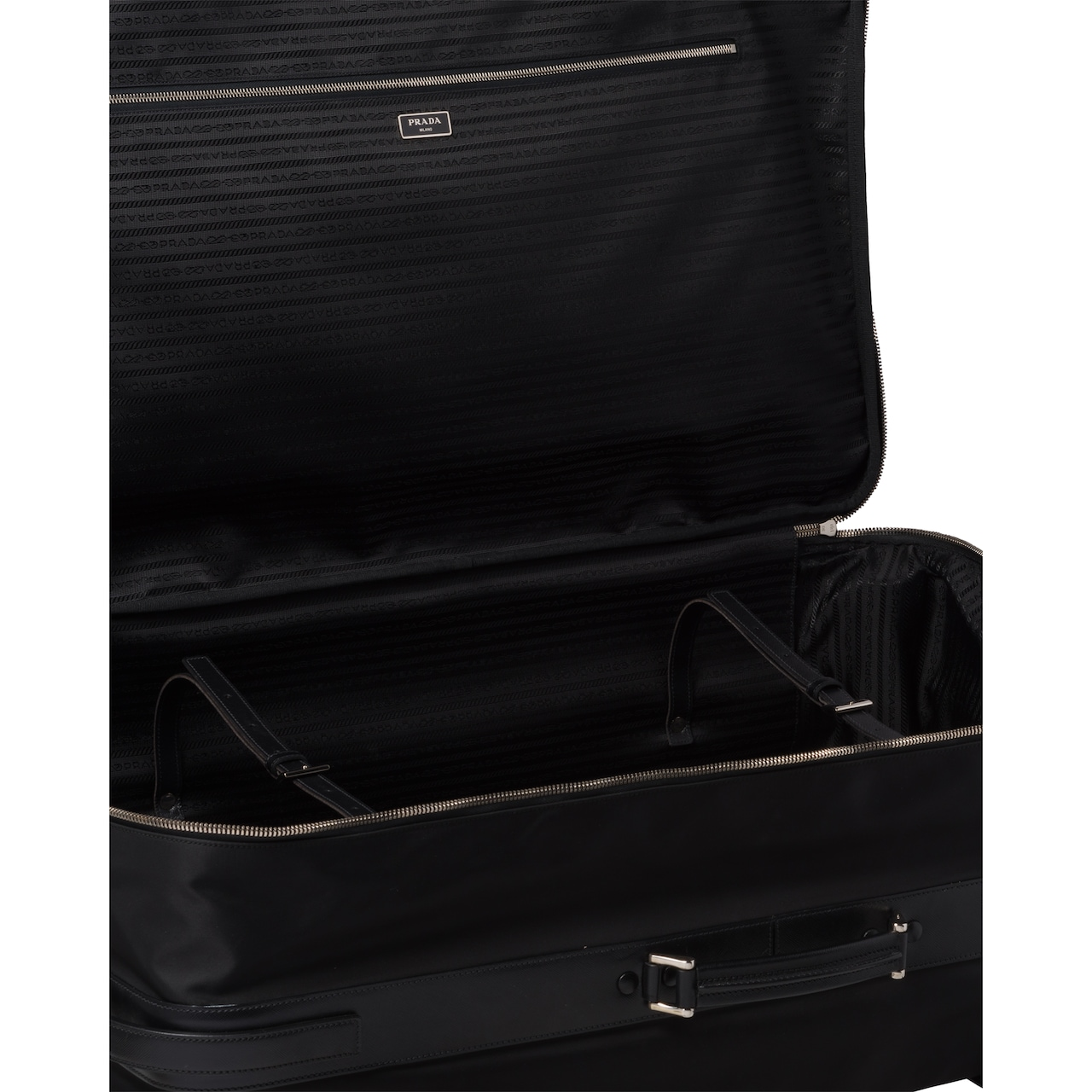 Prada Nylon Semi-Rigid Suitcase 5