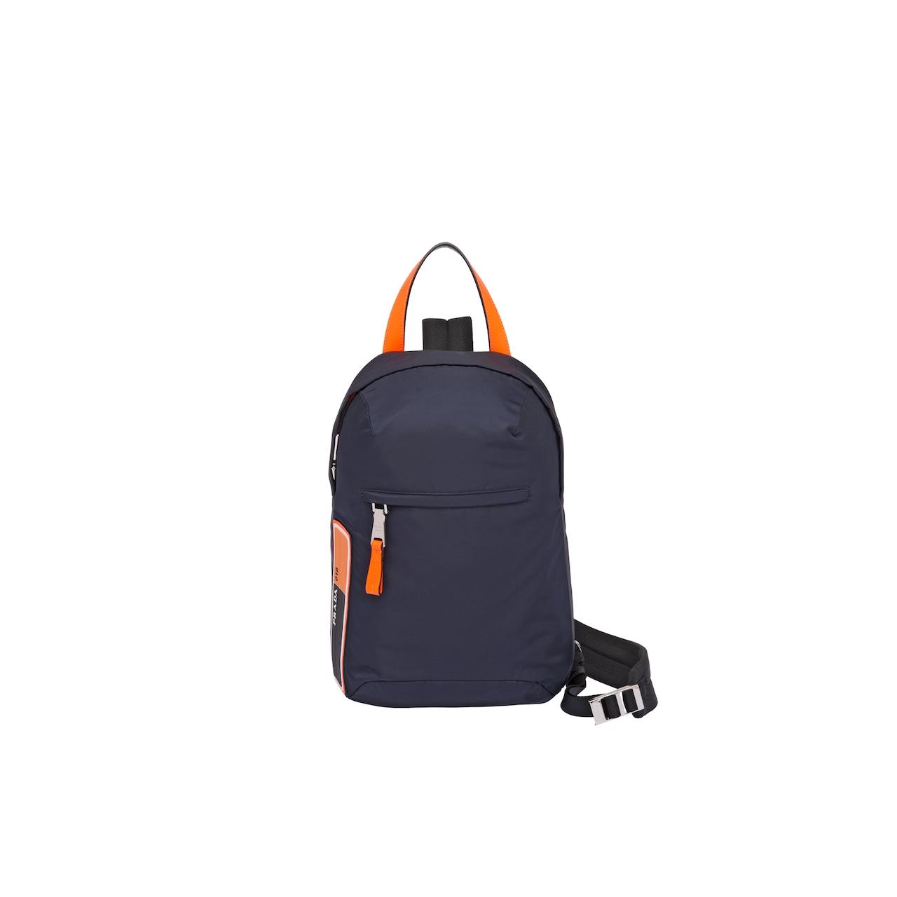 f19cf8505189 Nylon one-shoulder backpack