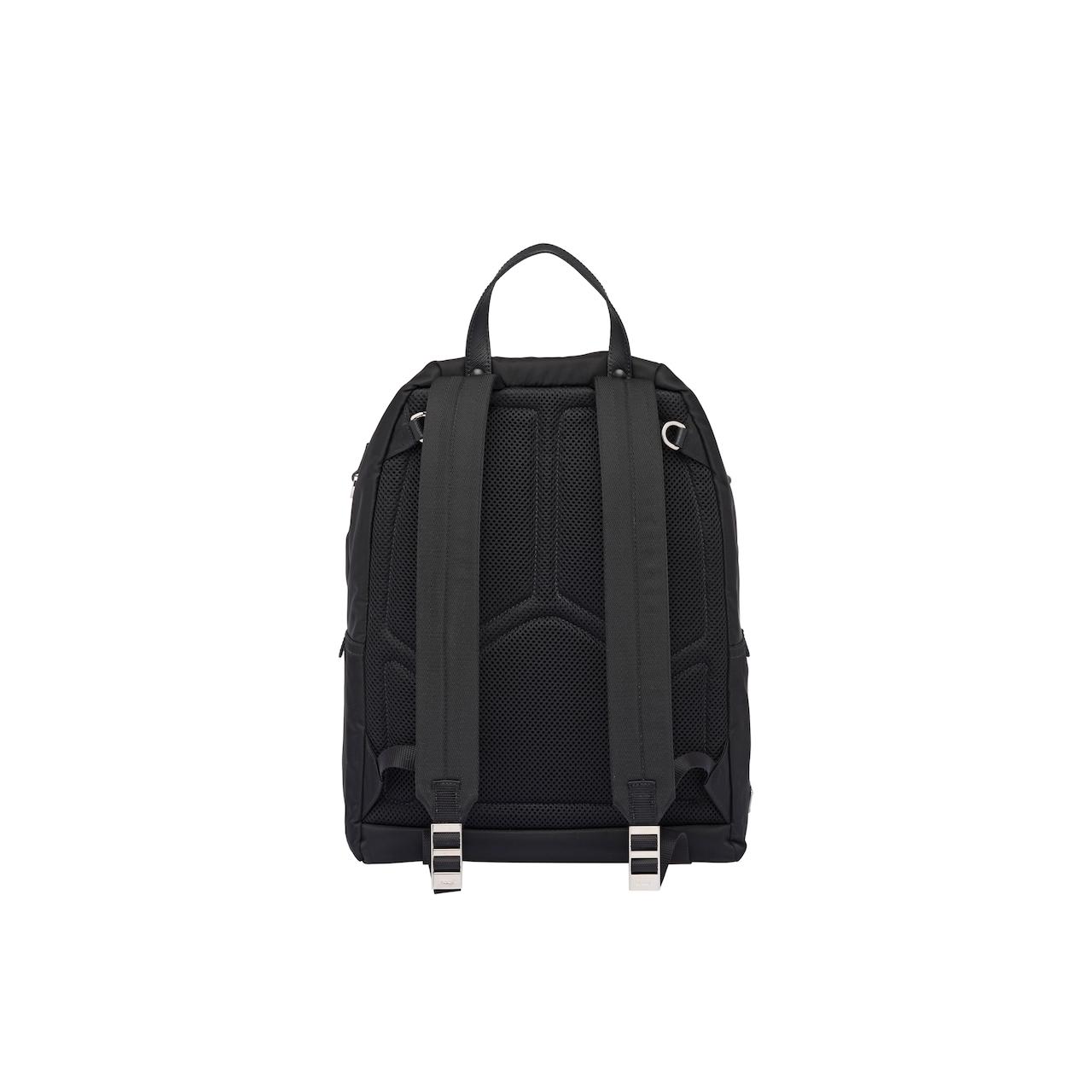 Prada Technical fabric backpack 4