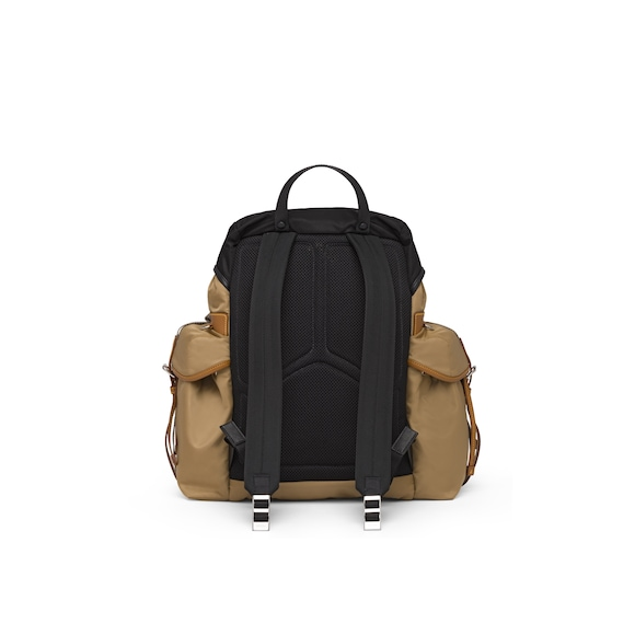 Prada Technical fabric and Saffiano leather backpack 4
