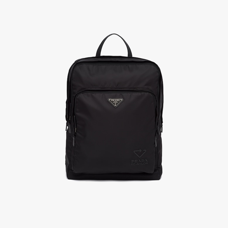 Prada Re-Nylon and Saffiano leather backpack - Man