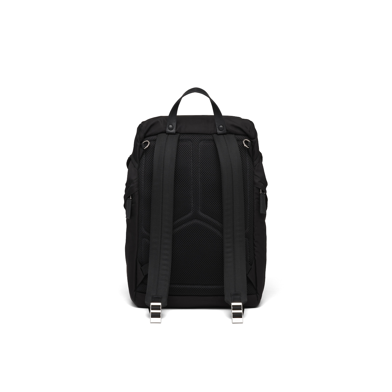 Prada Nylon and Saffiano leather backpack 4