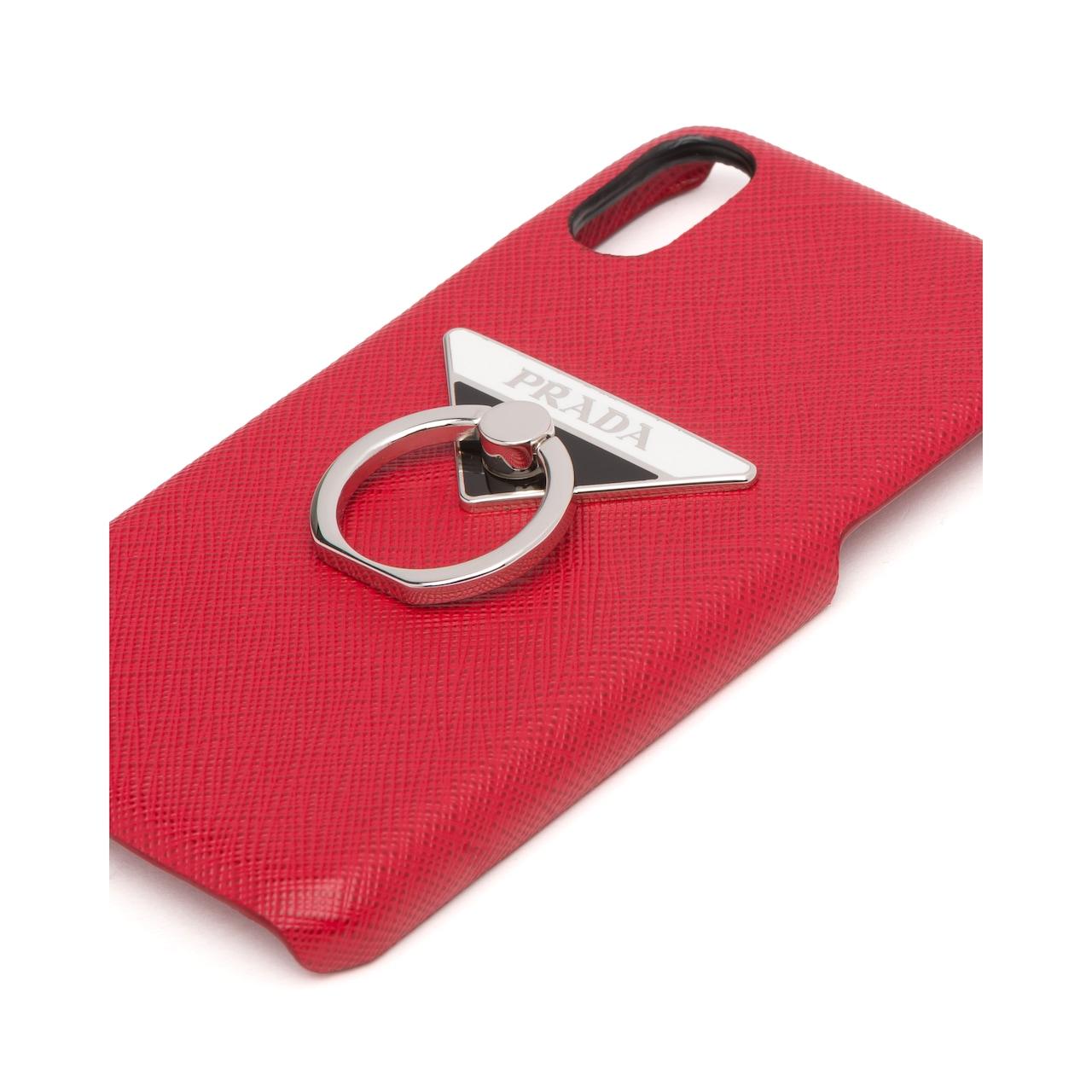 Prada Saffiano 皮革手机套 4