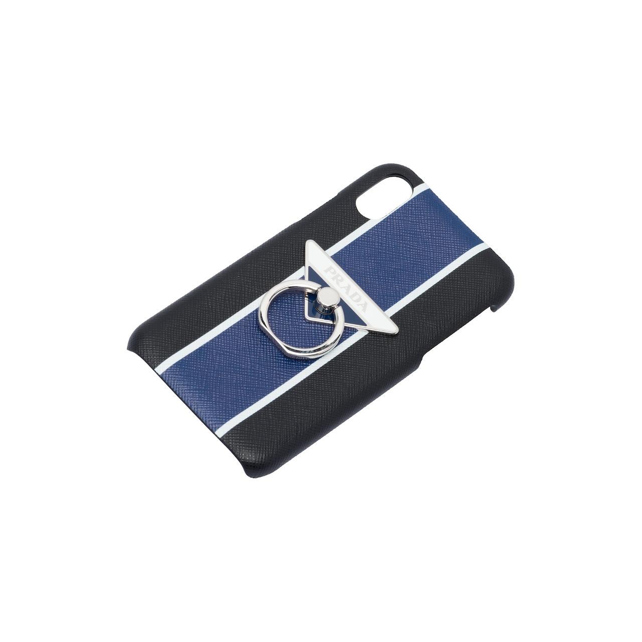 Prada Saffiano 皮革iPhone X 和XS 手机套 4