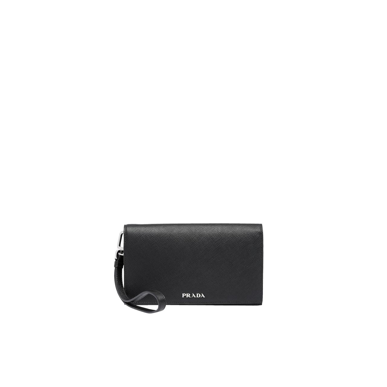 half off 78e32 028ac Saffiano leather smartphone case