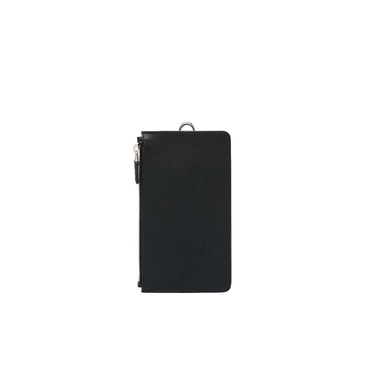 Prada Saffiano 皮革手机包 3