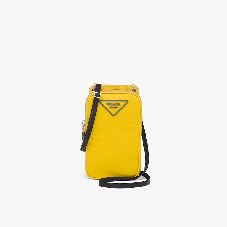 Prada Nylon Cellphone Case - Man