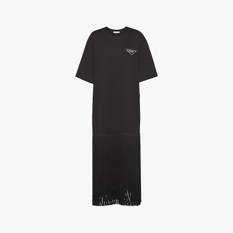 Prada Jersey T-shirt dress - Woman