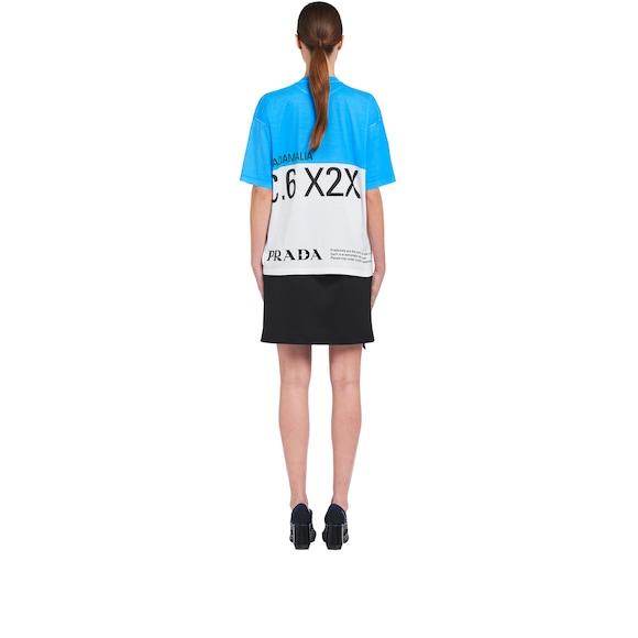 Pradamalia T-Shirt aus Baumwolljersey