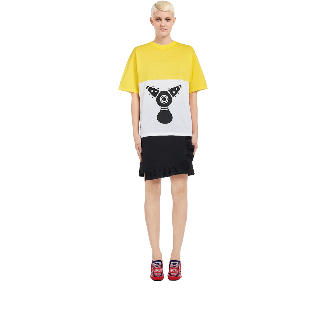 Pradamalia cotton jersey T-shirt