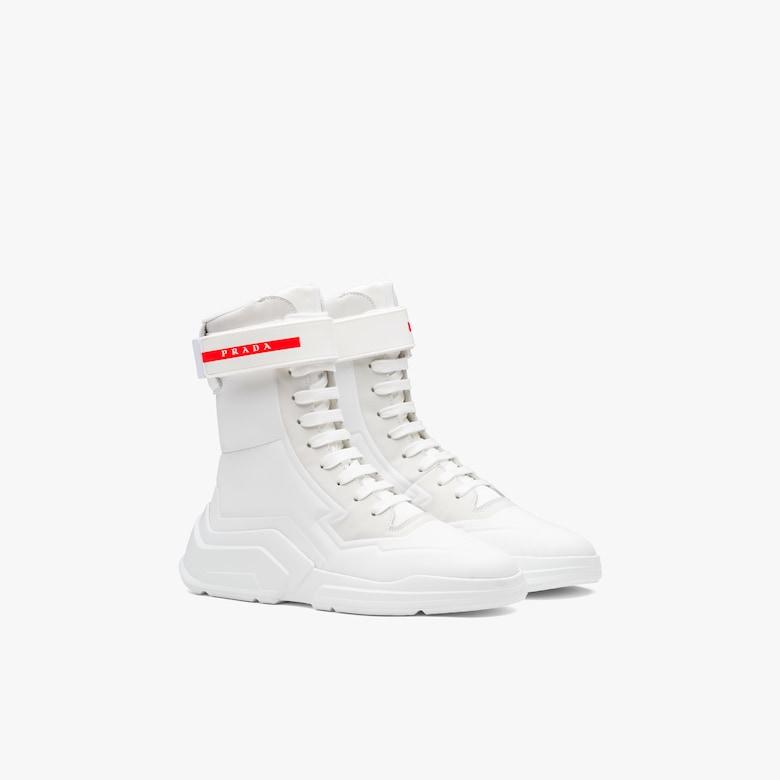 Linea Rossa High-top sneakers
