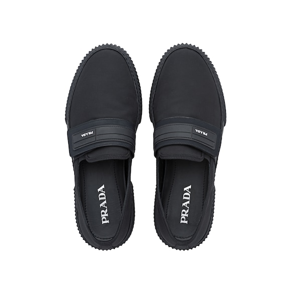 Technical fabric slip-ons