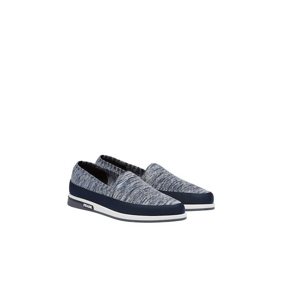 斜纹针织运动鞋