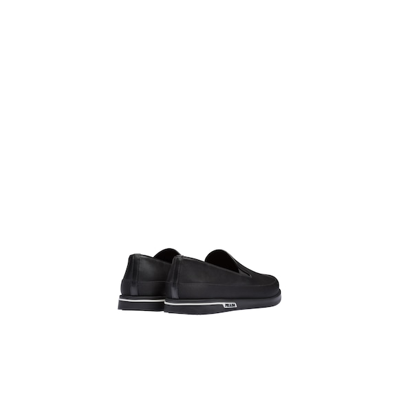 Prada Leather slip-on sneakers 4