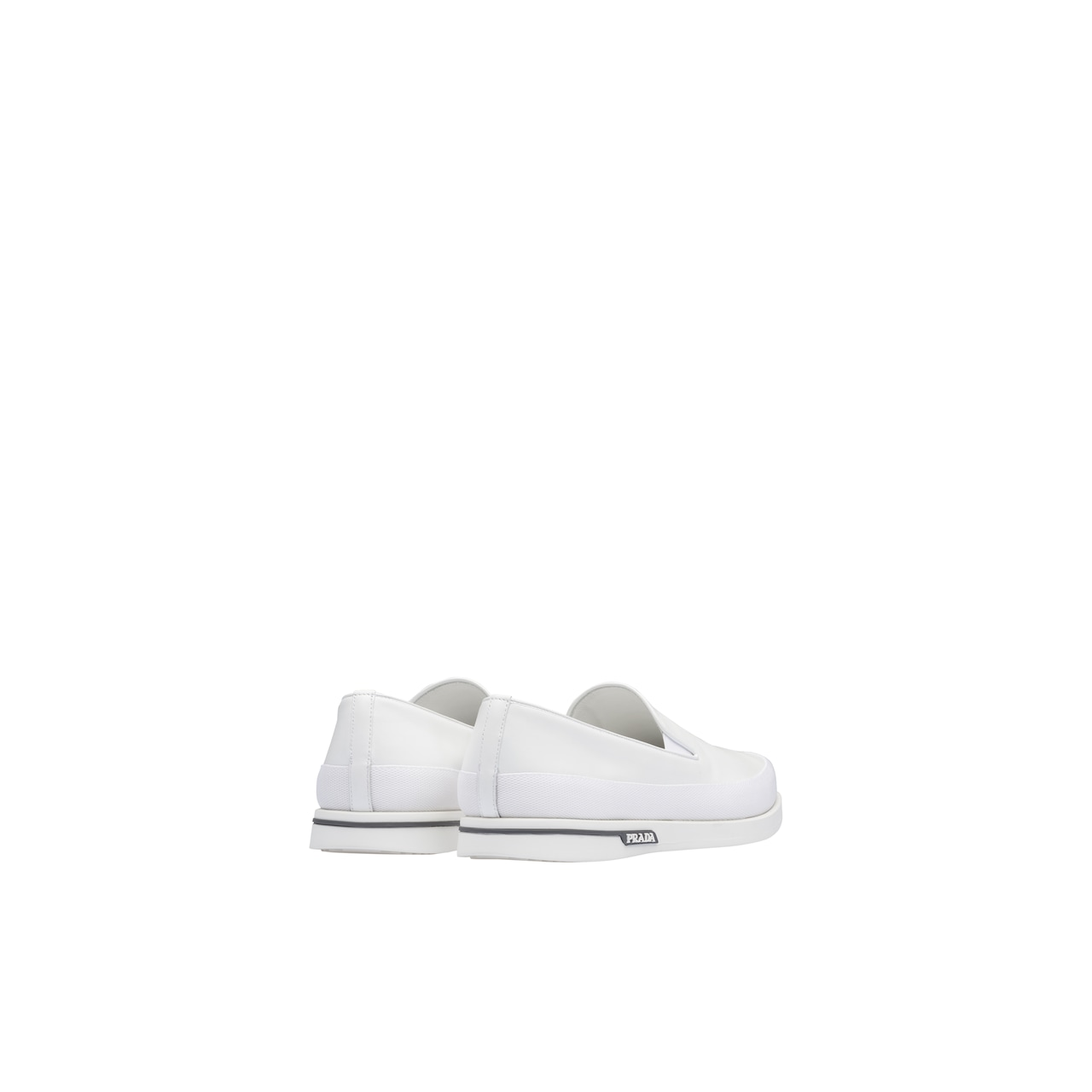 Leather slip-on sneakers 4