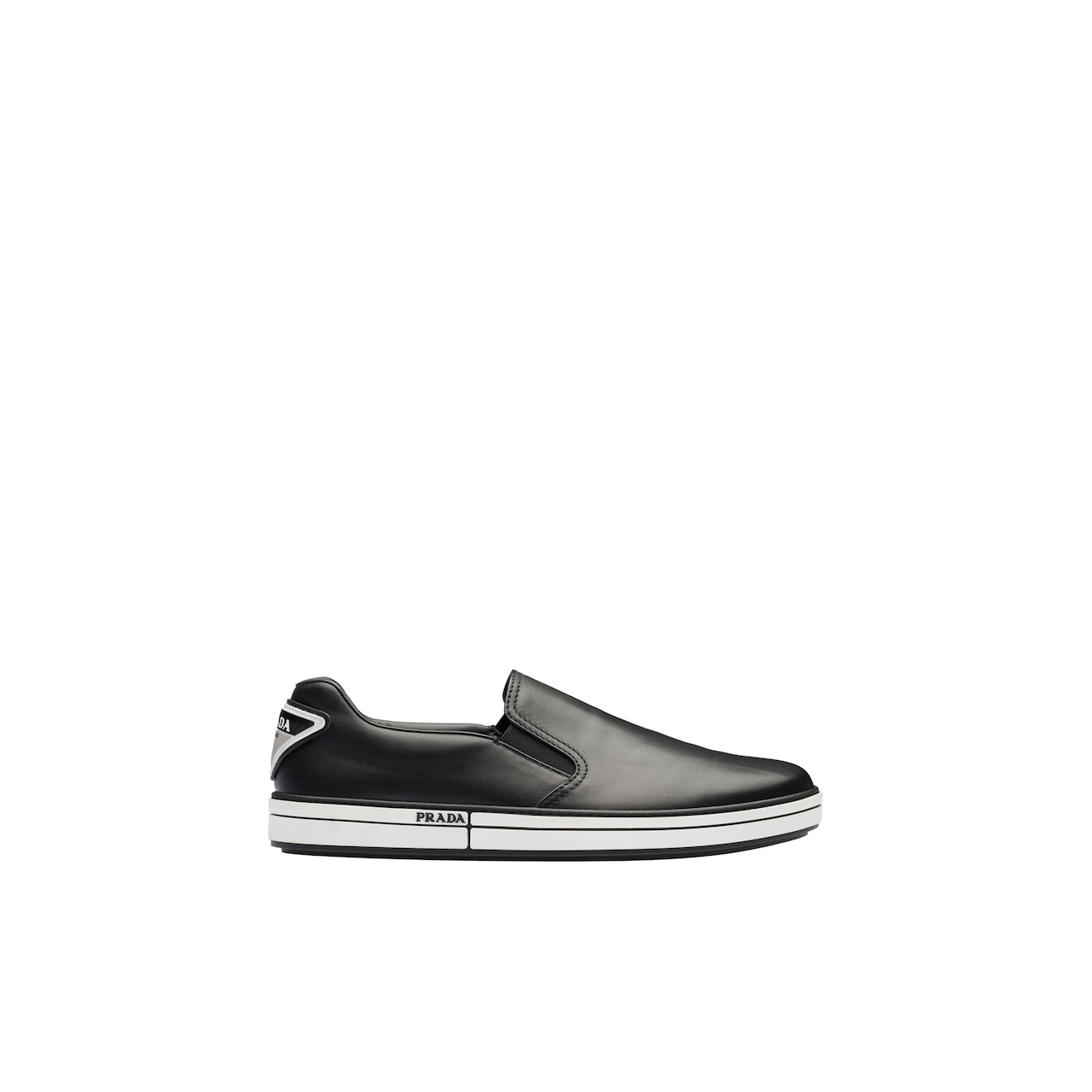 Prada Leather slip-on sneakers 2